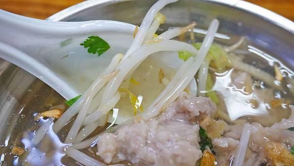 【台北美食】上全肉羹-隱身在菜市場裡的美味肉羹湯