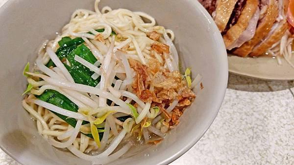 【蘆洲美食】故鄉鵝肉店-一碗麵只要20元的超便宜銅板美食