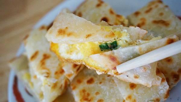 【台北美食】吉利街手工蛋餅-隱藏在巷弄裡的無名手工蛋餅店