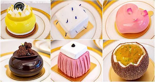 【台北甜點店】Gelovery Gift 蒟若妮法式甜點店-有如夢幻藝術外觀結合美妙滋味的甜點美食