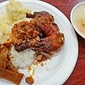 【台北美食】波霸紅燒雞腿飯-甜滋滋貴松松的軟嫩雞腿