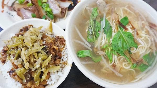【台北美食】熊記魷魚羹-不輸給名店的平價又好吃的魯肉飯