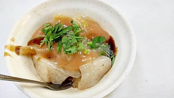 【台北美食】新中肉圓-40年老字號的美味肉圓小吃店