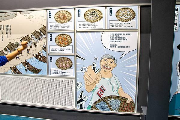 【宜蘭景點】溪和水產觀光工廠-2021年全新開幕!好玩又有趣的漫畫式簡介,多種免費海鮮試吃,飯糰DIY與現煮海鮮DIY活動玩不膩,美味多種魚料理,門票全抵消費的必玩室內景點