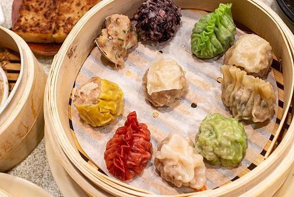 【蘆洲美食】澤字號粿舖-奢侈度爆表!金箔松露口味的現做小籠湯包,還有6種不同顏色的美味燒賣,值得推薦的港式料理店