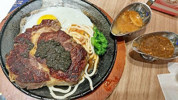 【蘆洲美食】牛一牛 厚切牛排-當月壽星半價!不限次數!超級厚切原肉牛排店,還有隱藏版牛肉湯免費喝哦!