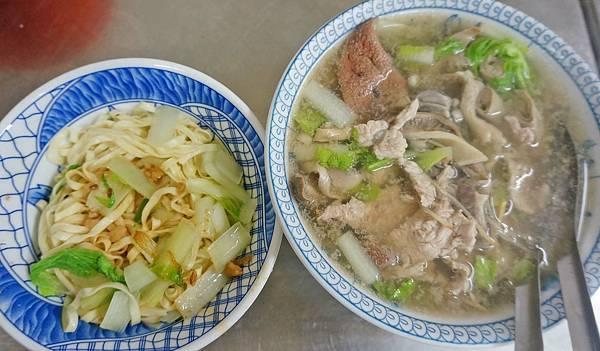 【基隆美食】乾麵綜合湯-沒有店名沒有招牌,路過不會發現的小吃店