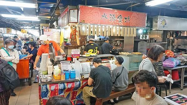【台北美食】水源食坊不一樣炒飯-用餐時間要等40分鐘以上才能吃到的美味炒飯