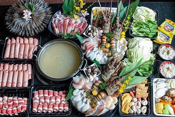 【桃園外帶美食】石頭日式炭火燒肉-外帶火鍋套餐,不到5折的價格就能吃到龍蝦等高級海鮮