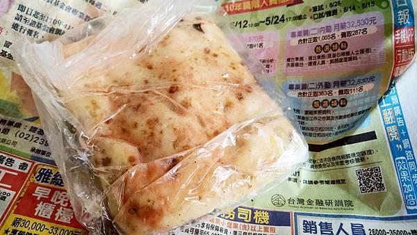 【中和美食】無名蛋餅攤-隱藏在狹小巷弄裡的手工無名路邊攤蛋餅