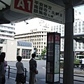 京都站前坐公車