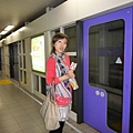 搭地鐵趕14:00的京都御所導覽