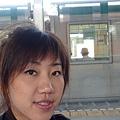 在等車到奈良