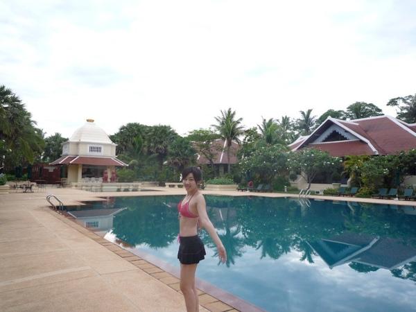 我喜歡這個游泳池