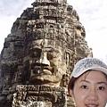 國王加耶跋摩七世的面容