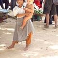柬埔寨的小朋友