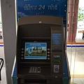 ATM上面有著小吳哥