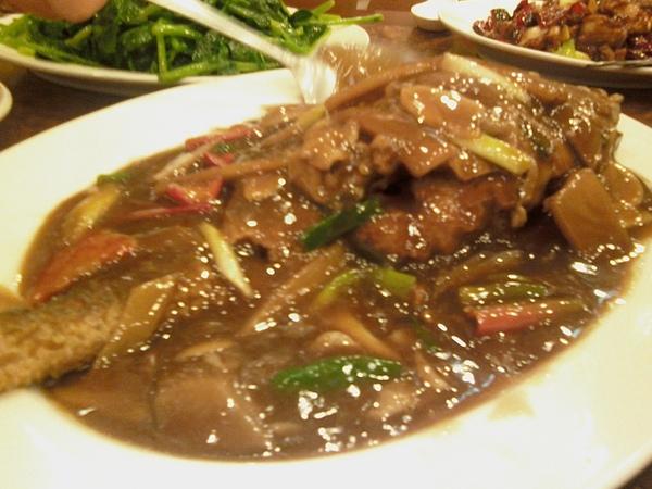 基隆--湖南小館--紅燒魚