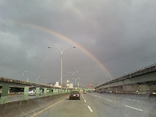 雨後的彩虹