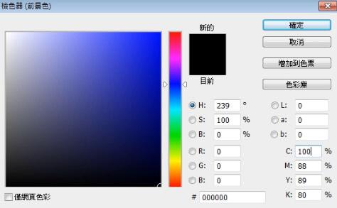 Photoshop教學課程CMYK模式和色彩模式的轉換