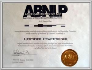 ABNLP認證式樣
