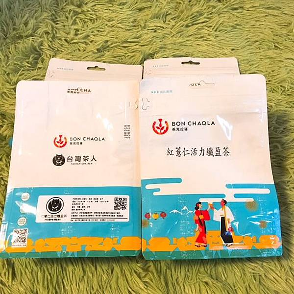 謝謝【mo】試用提供的台灣茶人紅薏仁活力纖盈茶1.JPG