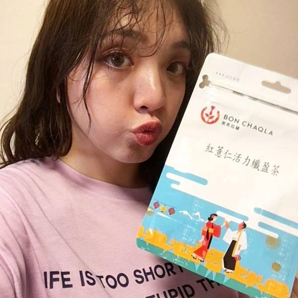 謝謝【mo】試用提供的台灣茶人紅薏仁活力纖盈茶9.JPG