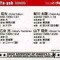2007 Jr.大冒險-資料卡(背面)
