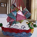 自製糖果粽與龍舟