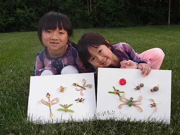 黏土創作:昆蟲