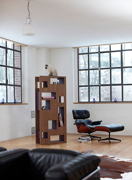 Design cat tree - Exclusive scratching trees Reading Cat furniture-144154