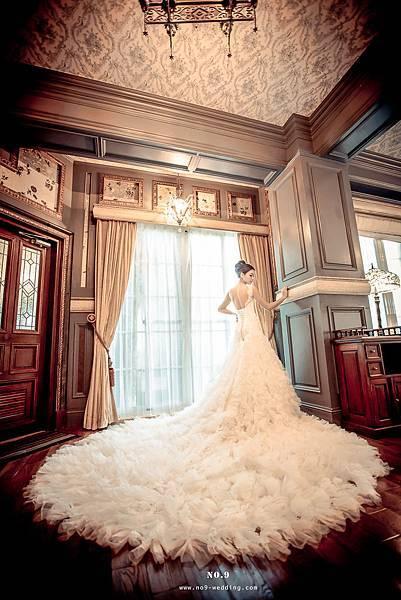 新娘最愛氣勢白紗