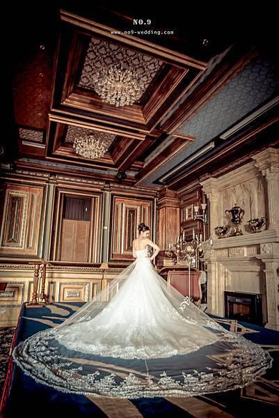 極力推薦新娘最愛-華麗氣勢蓬裙白紗
