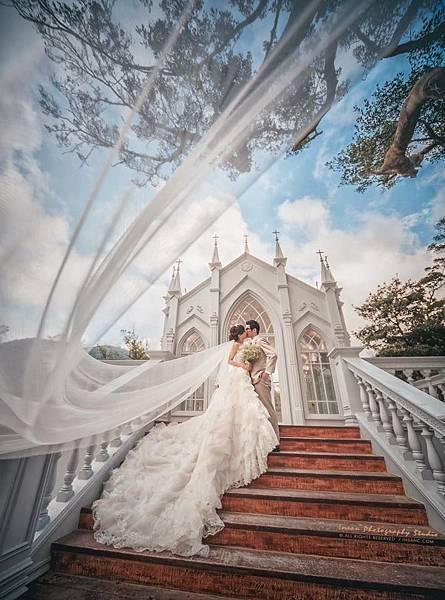 NO.9 歐式浪漫蓬裙白紗