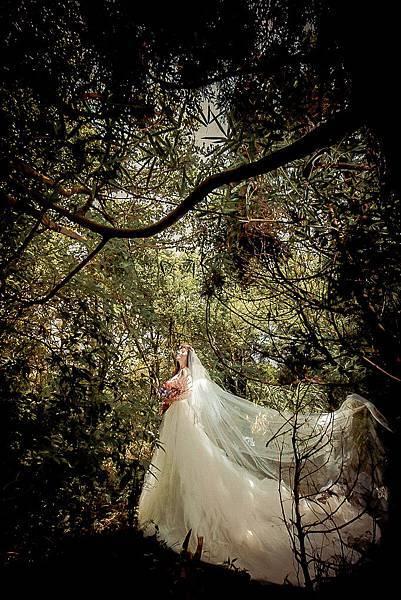 NO.9自助婚紗-浪漫層次手工婚紗