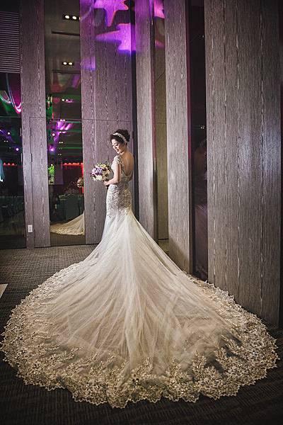 獨家St. Paul's婚紗- 頂級晶鑽魚尾婚紗