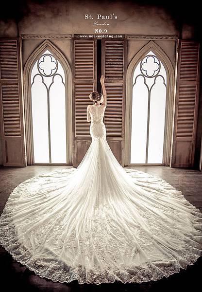 NO.9最新獨家St. Paul's婚紗