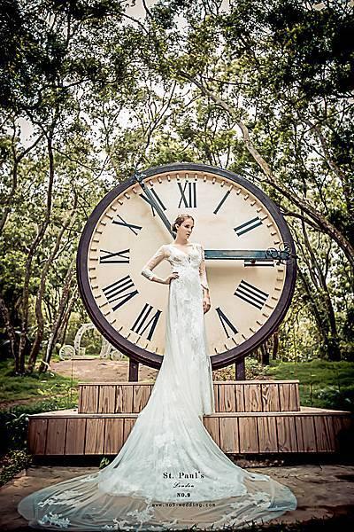 自助婚紗-第九大道英式手工婚紗