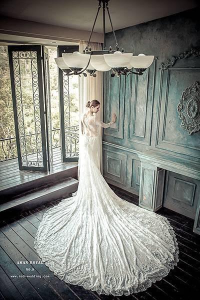 NO.9獨家-頂級設計款手工婚紗