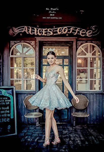 NO.9獨家-性感俏皮手工芭蕾短裙