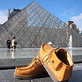口袋鞋@羅浮宮