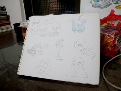 2012.3.14畫的想像力練習