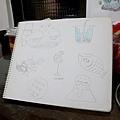 2012.3.07畫的想像力練習