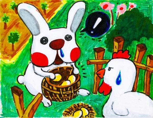 偷菜兔的第2天(偷菜也會有失手的時候) .jpg