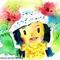 碧琪的花帽.jpg
