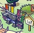 貓場所里門
