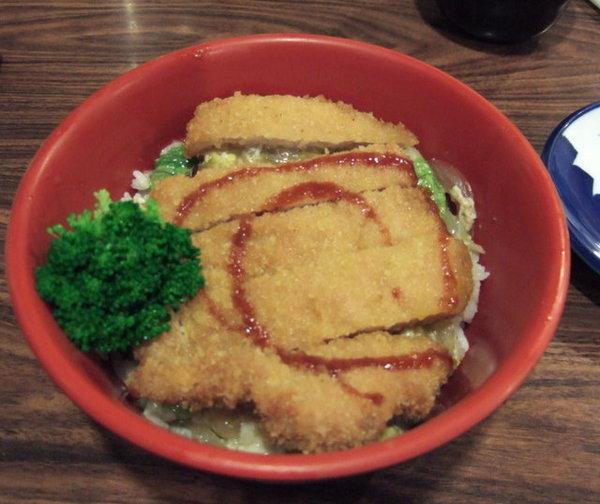竹楓壽司_豬排蓋飯