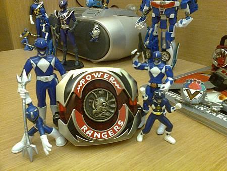 トリケラレンジャー/Blue Range
