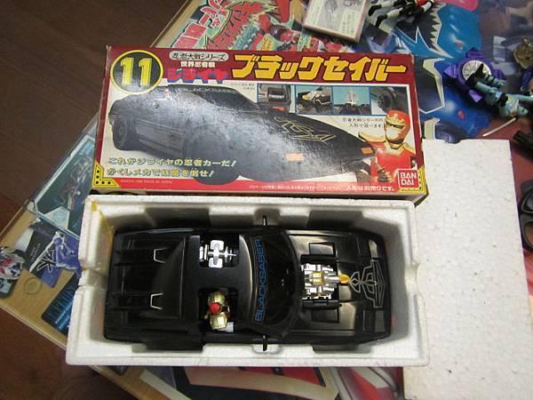 忍者大戰系列 01磁雷矢 黑星馬02
