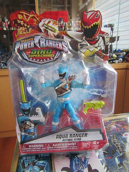 Dino Charge AQUA RANGER 01